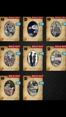 Topps Digital The Walking Dead Card Trader: Father's Day 2018 Full Set Rick&Carl
