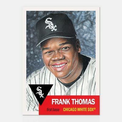 In hand...ready to ship! 2018 TOPPS LIVING SET #133 FRANK  THOMAS FREE SHIP!