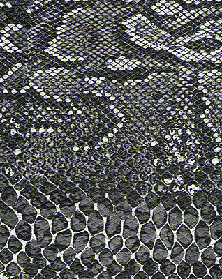 Camera Body Recovering Leatherette self-adhesive Black & White Snake
