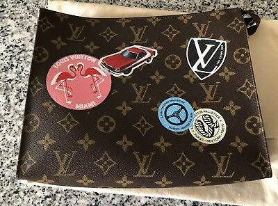 b8b7041c7b685 LOUIS VUITTON WORLD Tour Limited Edition Toiletry Pouch 26 - $699.99 ...