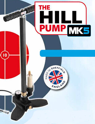 The Hill Pumps MK4 PCP Air Gun Pump with Patented Dry-Air System - 4128-555