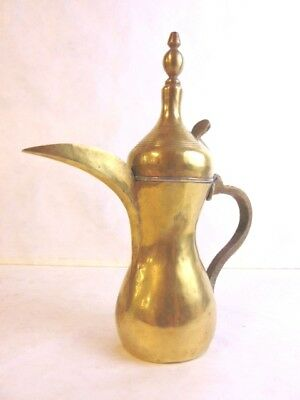 Fine Antique Arabic Islamic Persian Bedouin Dallah Coffee Pot Middle East