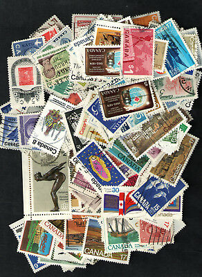 Canada  Used  Collection of  200+  with Better Stamps  All Different