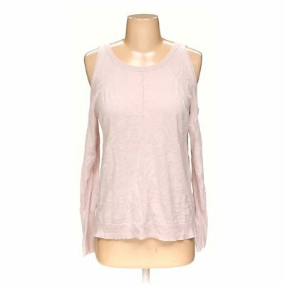 0fae81262f VINCE CAMUTO WOMEN S Sweater Size Large Blue and Pink Striped Cotton ...