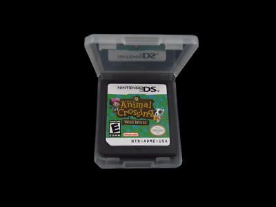 Game: ANIMAL CROSSING WILD WORLD for Nintendo DS + Lite + DSI + XL + 3DS + 2DS