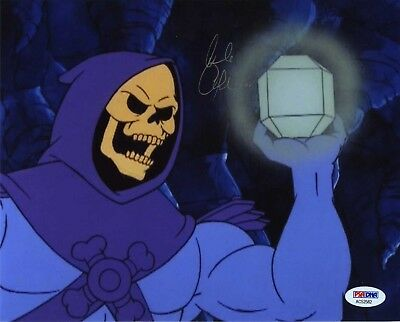 Alan Oppenheimer He Man Skeletor Signed Autographed 8x10 Photo PSA/DNA COA
