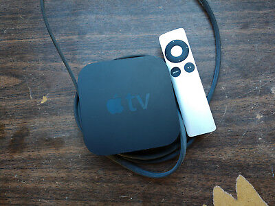 Apple TV (3rd Generation) 8GB HD Media Streamer - A1427 WITH REMOTE