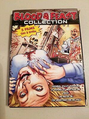 Blood Feast Collection (DVD, 2005) 2 disc