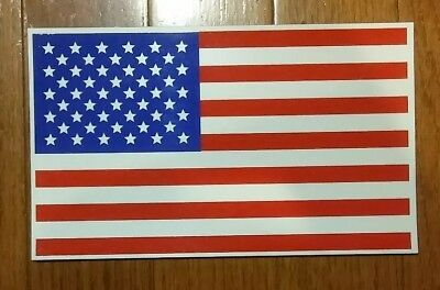 """2 American Flag Magnet Large Size 6x10"""" Patriotic Decal for Car Truck or Fridge"""