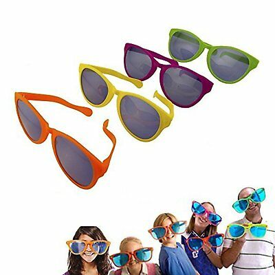 12pk Jumbo Novelty Clown Sunglasses party Favors Concerts photo booth Props