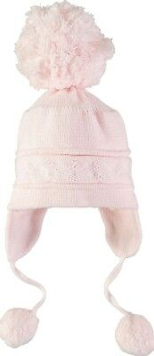 Emile Et Rose Griffin Pink Large Bobble Hat Luxury Designer Babywear Girl