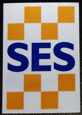 Nsw Ses State Emergency Service Reflective Helmet Sticker