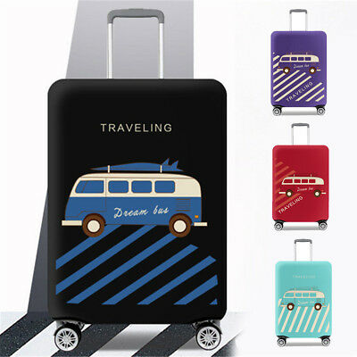 "18-32"" Elastic Luggage Suitcase Cover Protective Bag Dustproof Case Anti Scratch"