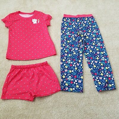 10dfcf515 GIRLS CARTERS PAJAMAS Tops and Bottoms Set Size 6 - $12.99 | PicClick