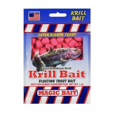 Magic Bait S-142 Krill Trout Bait Pink 1 Ounce pk Fishing Tackle Lure