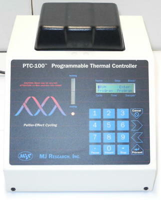 MJ Research PTC-100 Programmable 60 Well Block Thermal Cycler