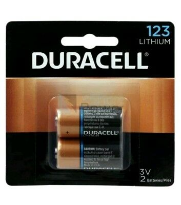 2 Duracell Ultra High-Power Lithium Battery, 123, 3V, Ships Out Same Day!!