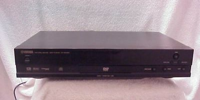YAMAHA DV-S5450 === Single Disc DVD Player with DigitalOutput, Remote Control *
