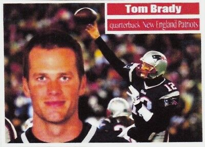 Tom Brady 56 Aceo Art Card ### Buy 5 Get 1 Free ### Free Combined Shipping