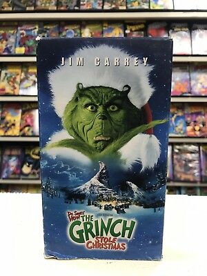 How The Grinch Stole Christmas 2000 Vhs.Jim Carrey How The Grinch Stole Christmas Vhs Video Tape