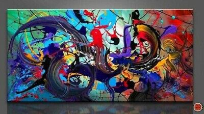 Modern Abstract 100% hand-painted Art Oil Painting Wall Decor canvas Unframed