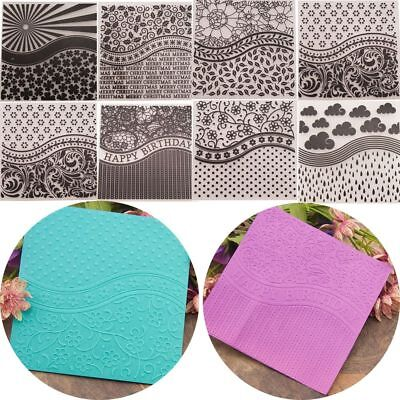 Folder Stencil DIY Craft Card Plastic Making Scrapbook Album Embossing Template
