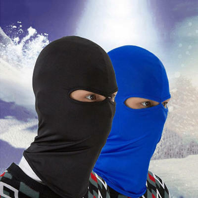 Outdoor Ski Motorcycle Cycling Balaclava Lycra Full Face Mask Neck Dust-proof