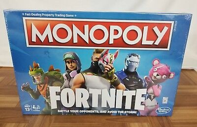 Fortnite Monopoly Board Game Limited Edition Brand New Factory Sealed