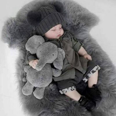 Elephant Stuffed Animal Plush Toy Dolls for Kids Baby Bed Pillow Cushion US Sell