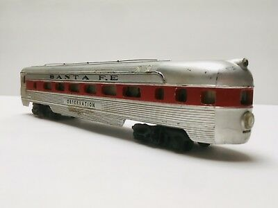 HO Model Railroad Cars SANTA FE Observation CAR RESTORATION (HO scale)