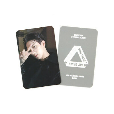 [SEVENTEEN]You Made My Dawn Official Photocard/Dawn Ver./A-DK