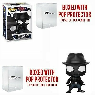 Funko Pop Spider-Man into the Spiderverse: Spider-Man Noir Bobble-Head 29723