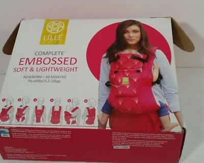 Lillebaby Complete Six Positions Embossed Baby Carrier