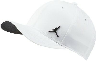 JORDAN CLASSIC 99 Metal Jumpman Adjustable Cap Hat Black Snapback ... 16af882e81f7