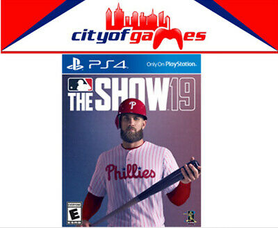 MLB The Show 19 PS4 Game Brand New & Sealed In Stock