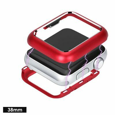 Magnetic Metal Bumper Frame Case Cover For Apple iWatch Watch Series 3 2 1 New