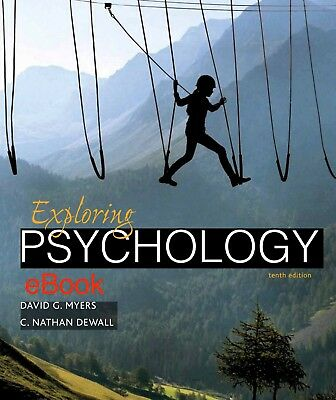 Exploring Psychology by David G. Myers and C. Nathan DeWall 10th Edition **ᴇʙᴏᴏᴋ