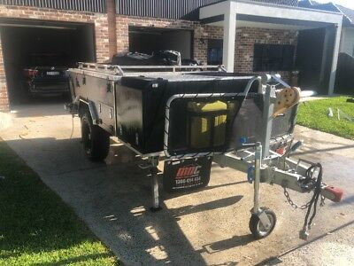 2015 MDC Off road rear fold camper trailer hardly used