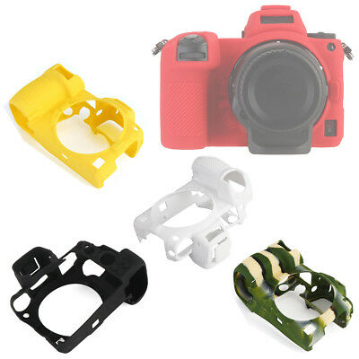 Textured Rubber Silicon Case Body Cover Protector Skin for Nikon Z7 Z6 Camera