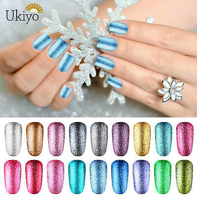 Ukiyo Esmalte Semipermanente UV LED Uñas de Gel Brillo de Platino Pintauñas 8ml