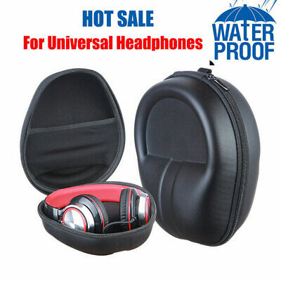 Protect Carrying Hard Case Pouch Storage Bag For Headphone Earphone Headset AU