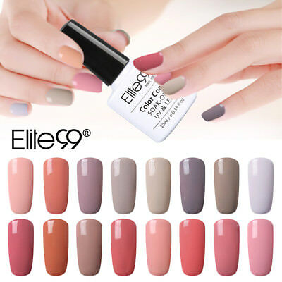 Elite99 Gel Polish UV LED Nude Esmalte Semipermanente De Uñas Soak Off Lacquer