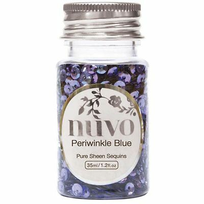 Nuvo by Tonic Studios Pure Sheen Sequins Periwinkle Blue | 35ml