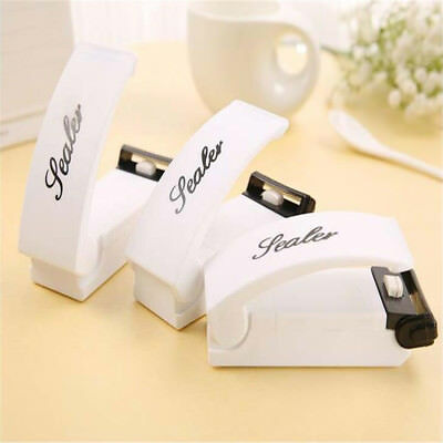 Food Bag Sealer Battery-operated Portable Heat Sealing Machine Plastic #LN8