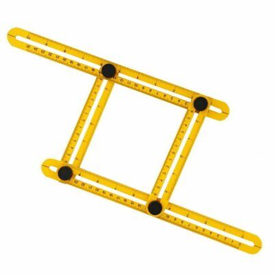 Universal Yellow Angularizer Ruler Multi Angle Measuring Ultimate Template 1mm