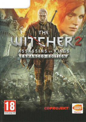 The Witcher 2 Assassins Of Kings Enhanced Edition PC Mac Linux Game