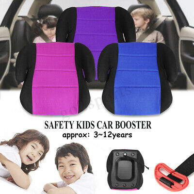 Car Booster Seat Safety Sturdy Chair Cushion Pad For Toddler Children Child