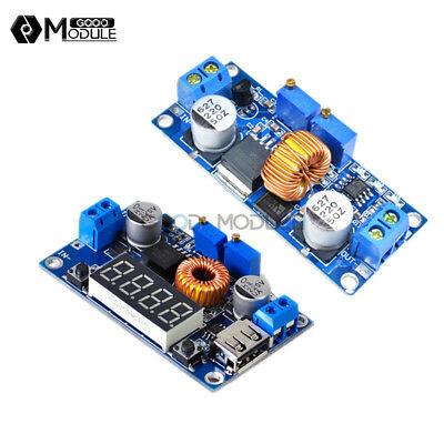 5A CC CV LED Driver Lithium Charger Step down Module With USB Port Voltmeter