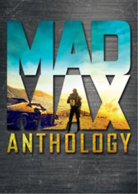 Mad Max Anthology (4 DVD) Quadrilogia Cofanetto Collection Nuovo