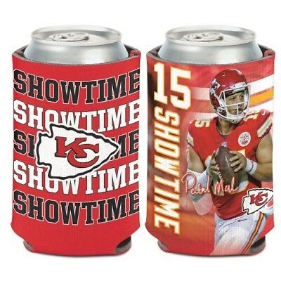 Patrick Mahomes Kansas City Chiefs Neoprene Can Coozie Koozie Cooler Holder